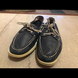 Sperry Top Sider Blue Loafers - Women Size 9.5